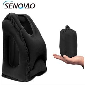 New Inflatable Travel Pillow Headrest Portable